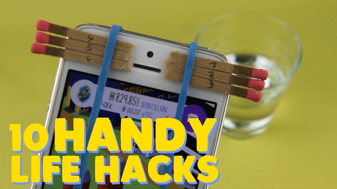 10 handy life hacks die du kennen solltest youtube. Black Bedroom Furniture Sets. Home Design Ideas