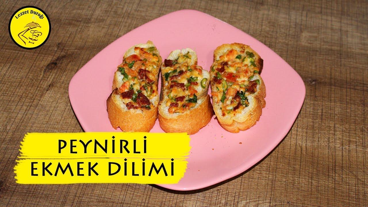 Sucuklu Ekmek Dilimleri Videosu