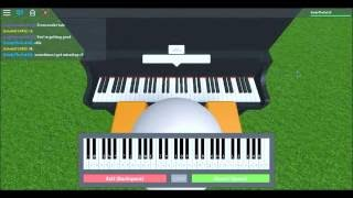 Playing Undertale Songs On Roblox Piano!