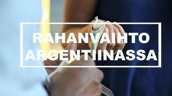 Laiton rahanvaihto Argentiinassa // Currency exchange in Argentina