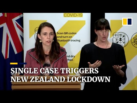 New Zealand implements national lockdown over one Covid-19 case