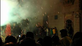 Mexican Fireworks (Castillos) - Close Proximity
