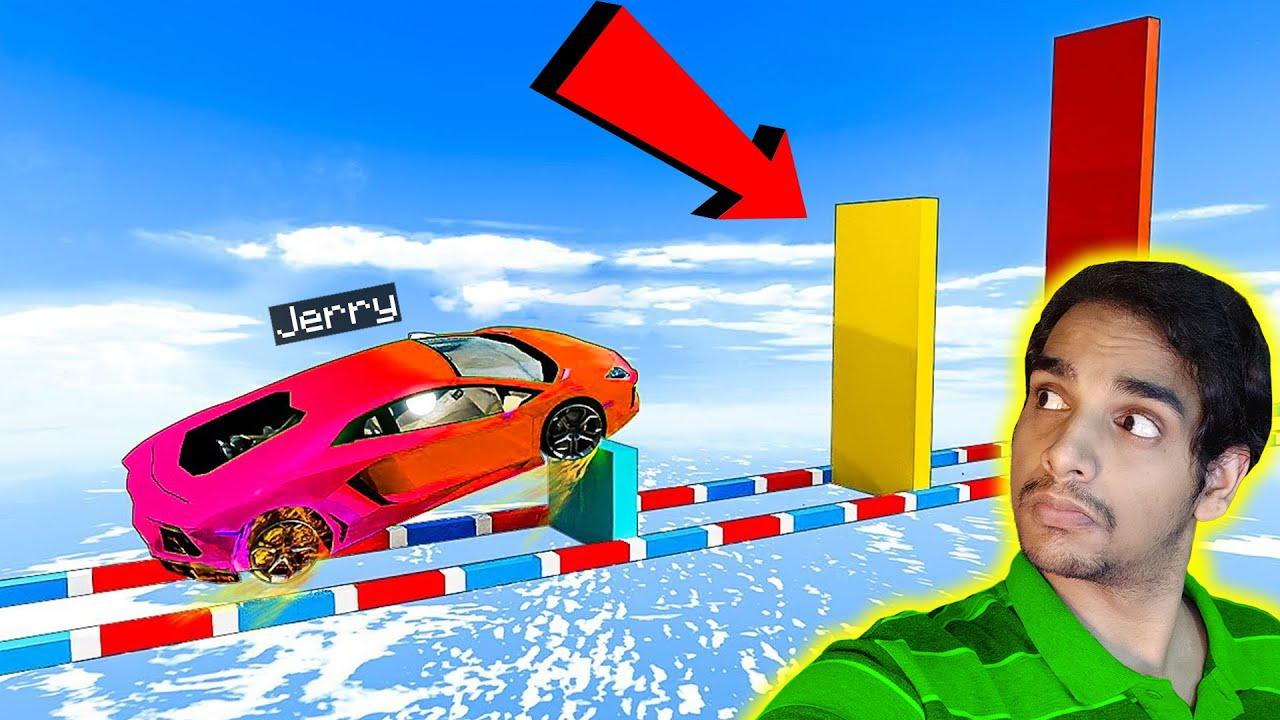 GTA 5 : 100% IMPOSSIBLE RAMP RACE !! Malayalam