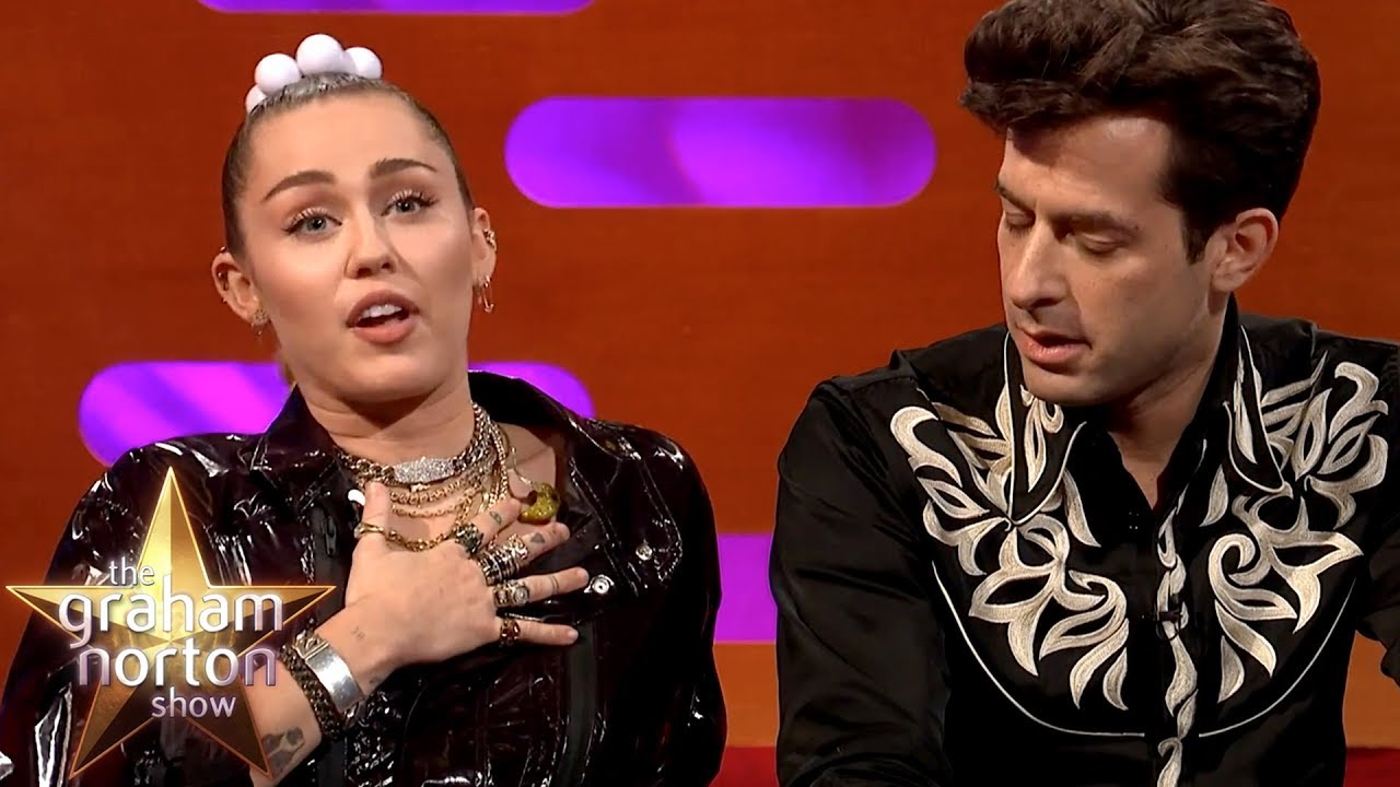Mark Ronson Stalked Miley Cyrus For FOUR YEARS Before They Made 'Nothing Breaks Like A Heart'! image