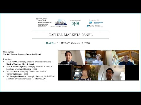2020 New York Maritime Forum - Capital Markets Panel