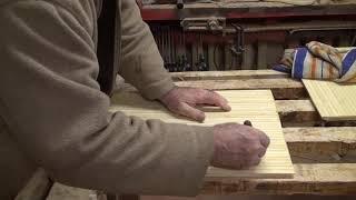 шкаф, задняя стенка из фанеры и бамбука, шкаф в детскую 8 часть