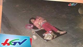 Bé gái mới 5 tuổi đã gánh cả gia đình