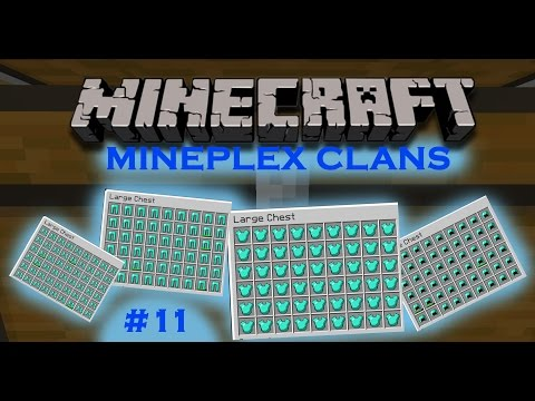 Mineplex Clans Alpha #11: RAIDING HACKERS - INSANE LOOT!