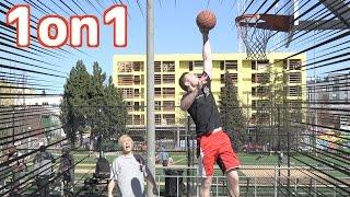 アメリカのストリートバスケで勝てるまで帰れま10!!【罰】