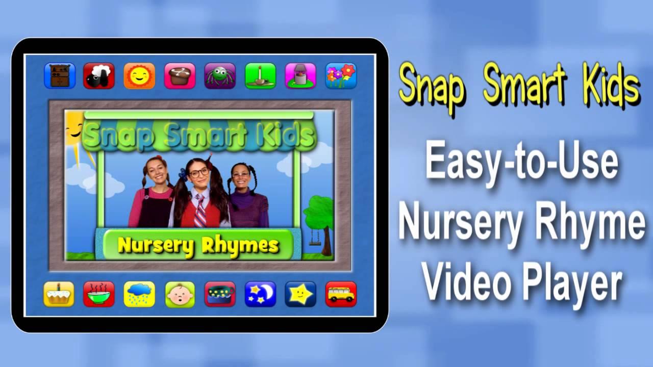 iPad Nursery Rhyme Video app by Snap Smart Kids! - YouTube