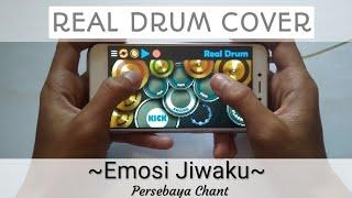 Gambar cover Emosi Jiwaku - Persebaya Chant (Reggae)   Real Drum Cover   Rukun Rasta Cover