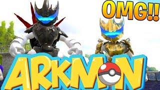 connectYoutube - GOLD MEGA MEWTWO EX - ARK SURVIVAL EVOLVED POKEMON MOD (ARKMON) #11