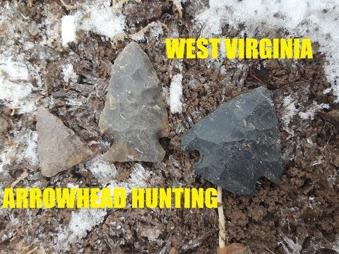 West Virginia Treasure Hunting AMAZING FINDS Ancient Indian Arrowheads Antiques Roadshow