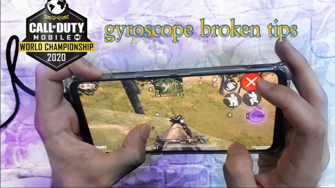 Best 2 broken tips for gyroscope and no recoil in cod mobile