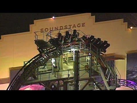 Roller coaster at Universal Orlando gets stuck