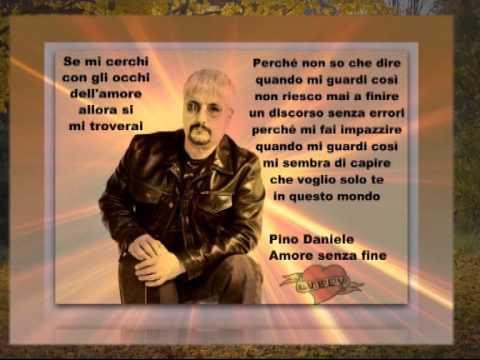 Pino daniele amore senza fine youtube for Amore senza fine