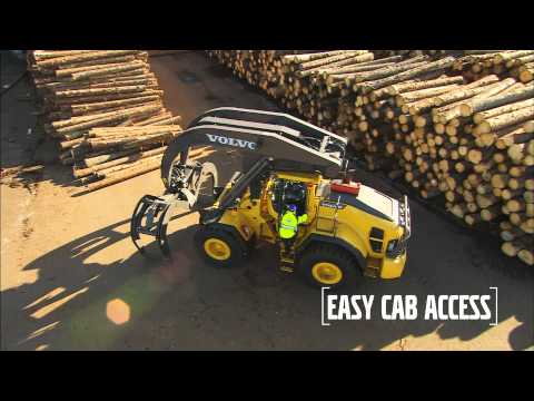 Volvo Construction Equipment Wheel Loaders L180H HL Care Cab - YouTube