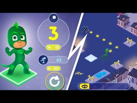 PJ Masks - Official Gameplay! - PJ Masks Time To Be a Hero / Moonlight Heroes App