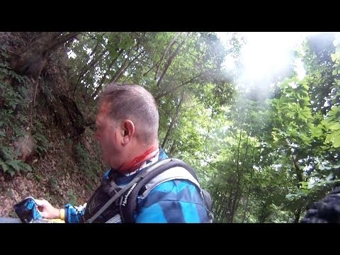 2012 Hatfield and McCoy two day trail ride single track