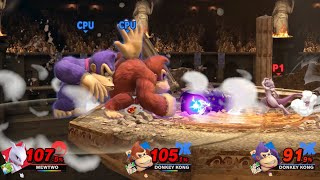 MEWTWO VS DONKEY KONG Spirit Board Super Smash Bros. Ultimate