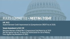 Rules Committee Meeting on H.R. 3621 and H.R. 550