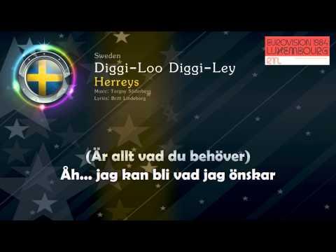 """[1984] Herreys - """"Diggi-Loo Diggi-Ley"""" (Sweden)"""