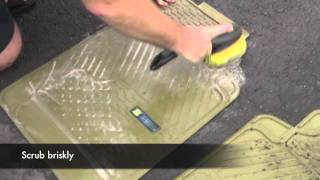 How to clean a rubber car mat - Posh Pile