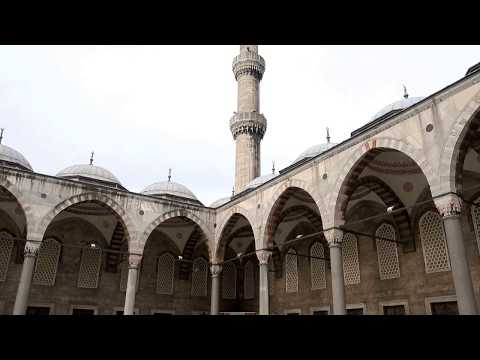 The Blue Mosque - Istanbul - Turkey 4K Ultra HD 2160p