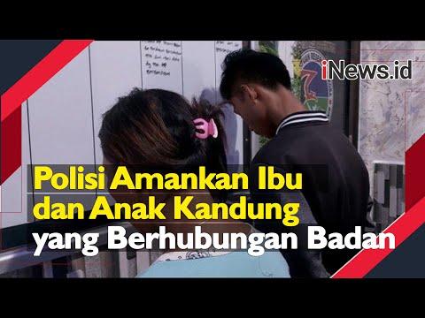 Detik-Detik Polisi Amankan Ibu Dan Anak Kandung Yang Berhubungan Badan Di Bitung