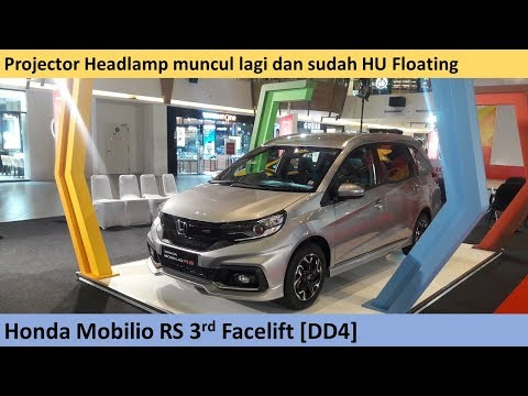 Honda Mobilio Rs Cvt 3rd Facelift 2019 Dd4 Review Indonesia