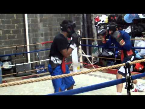 Downtown Boxing Club - Washington, DC - sparring 02-16-2014