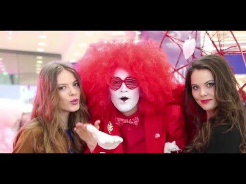 Видео: Праздник на День всех влюбленных в ТРК ГОРКИ