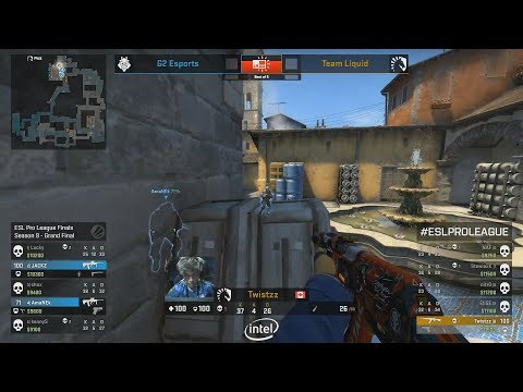 GRAND FINAL - G2 Vs Liquid - ESL Pro League S9 Finals - CS:GO