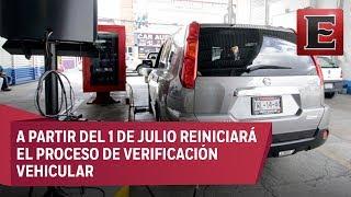 Verificación vehicular en la CDMX incluirá revisión a llantas y suspensión
