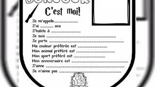 Nói Tiếng Pháp: Giới thiệu bản thân