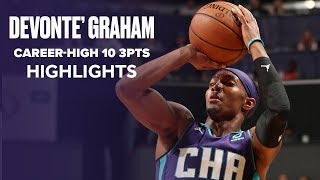 Devonte' Graham Hits Career-High 10 3-Pointers Against Golden State Warriors