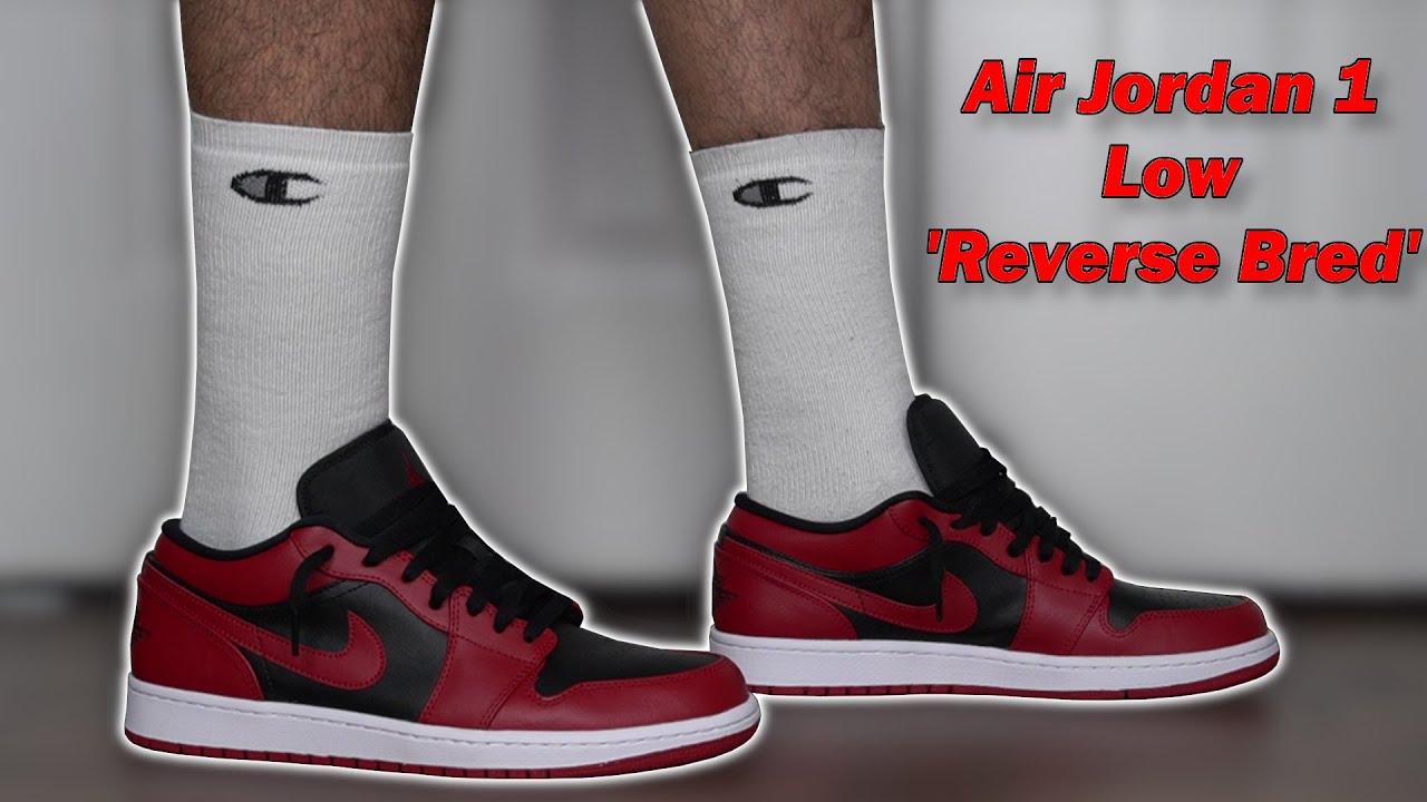 Air Jordan 1 Low 'Reverse Bred' Review