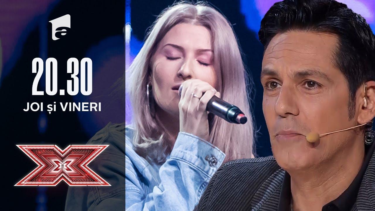 """Moment plin de emoție, la X Factor! Vezi cum cântă Alexandra Robea piesa """"Mulțumesc, iubită mamă"""""""