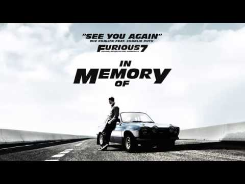 Charlie Puth - See You Again (Piano Demo Version) (Without Wiz Khalifa)[With Lyrics]