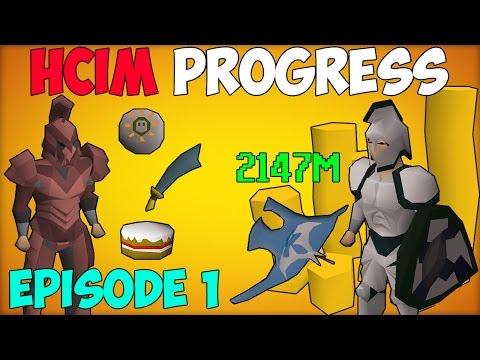 Runescape: Oldschool HCIM Progress - Episode 1