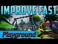 Fortnite Playground Mini Games Why People are improving so FAST?