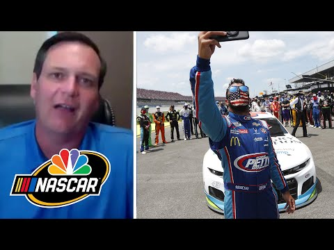 NASCAR America at Home: Emotional 24 hours for Bubba Wallace | NASCAR America | Motorsports on NBC