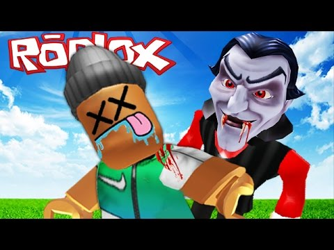 ATTACKED BY EVIL VAMPIRES IN ROBLOX