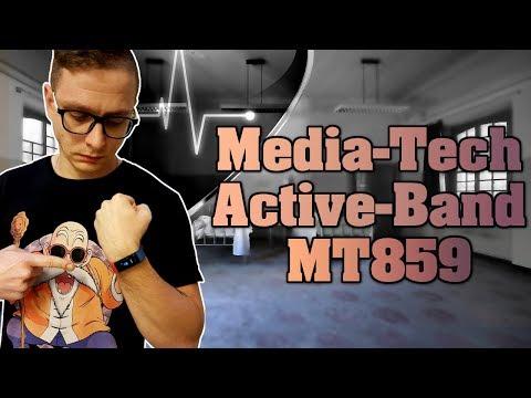 Media-Tech Active Band Color MT859 - test, recenzja, review opaski sportowej