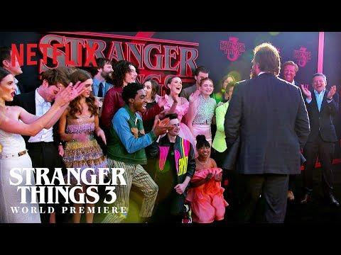 Best of the Carpet | Stranger Things 3 Premiere | Netflix