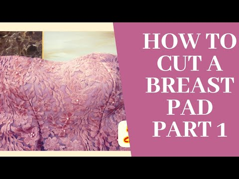 Download How to cut a breast pad.