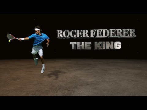 Roger Federer THE KING emotional video (with my beautiful music collection)