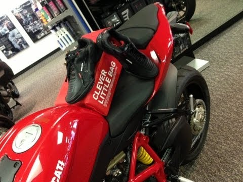 382d1d093cc Puma Ducati Hyperazzo Shoes from Gulf Coast Motorcycles! - YouTube