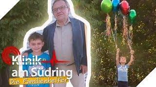 Mit Luftballons wegfliegen: Anton (7) will zu totem Opa in den Himmel   Die Familienhelfer   SAT.1
