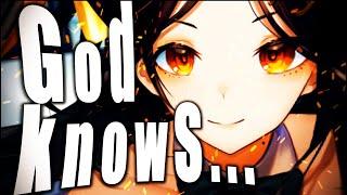 【歌ってみた】God knows.../涼宮ハルヒ(平野綾)【白雪 巴/にじさんじ】